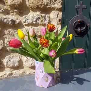 Tulpen in vaasje